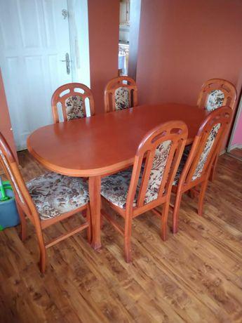 Komplet stół i krzesła