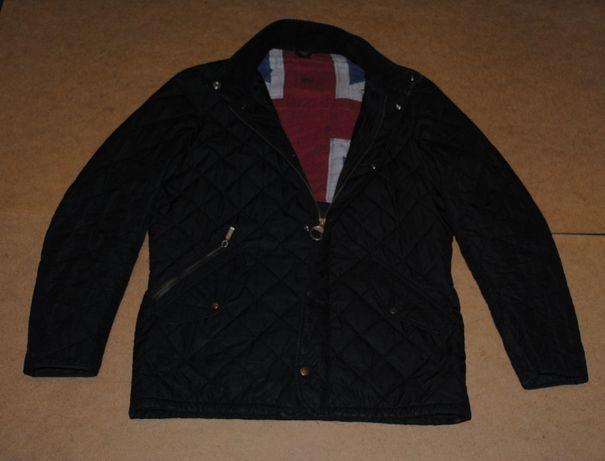 Barbour куртка с флагом
