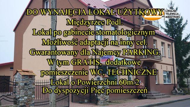 Lokal Po Gabinecie Stomatologicznym 60m/wynjmę/W cenie centr. ogrze.