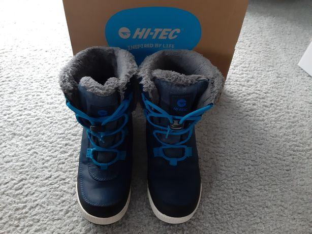 Buty chłopięce firmy Hi-Tec w rozmiarze 35