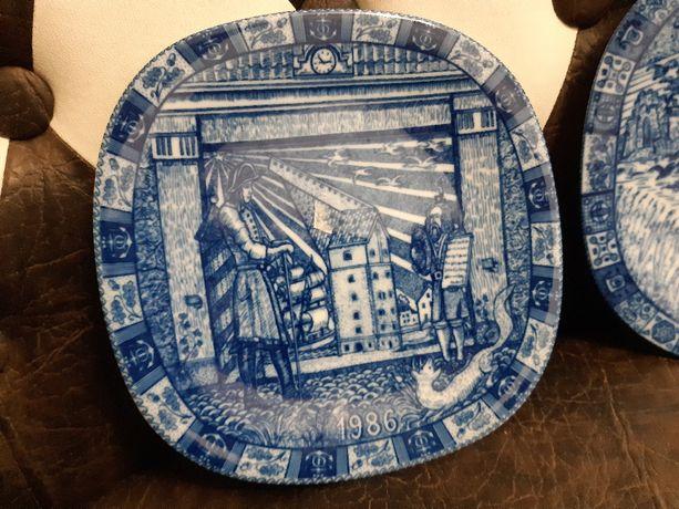 Коллекционная тарелка Yulen Rorstrand, 1986г, Швеция