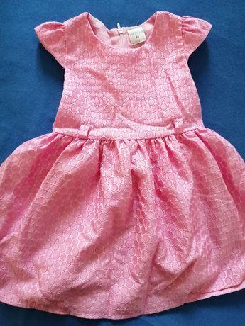 Sukienka dziewczęca r. 86