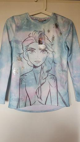 Bluza dla dziewczynki nadruk Frozen 140/146