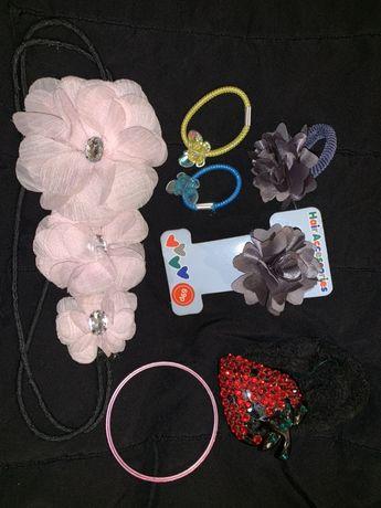 Резинки для волос резиночки бабочки