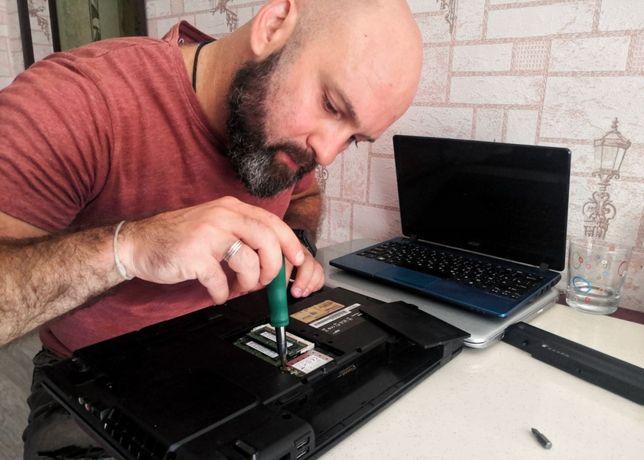 Установка Windows, Компьютерный мастер с выездом. Настройка SMART TV