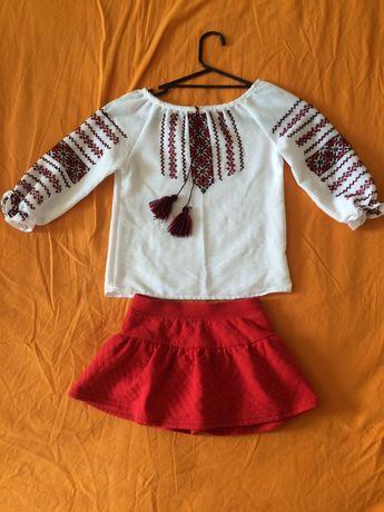 Вышиванка и юбка-шорты (комплект)