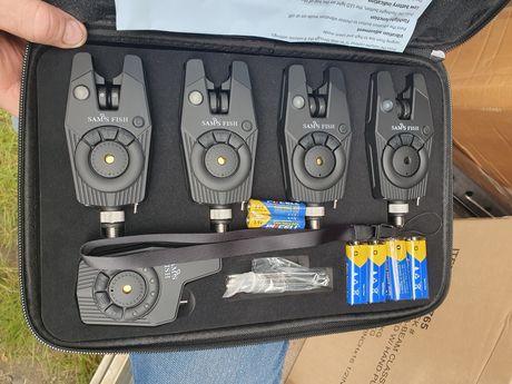 Набор сигнализаторов Sams Fish в кейсе с пейджером 4+1