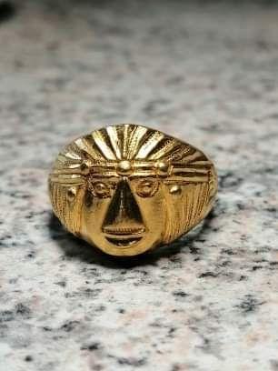 Złoty Sygnet 24  karaty zloto 100%