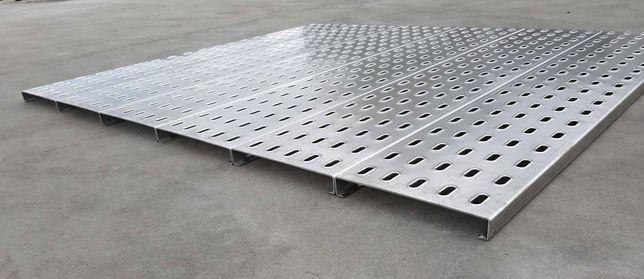 Panel podłogowy aluminiowy 370 LOHR Najazd Platforma Rampa