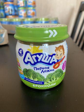 Детское питание пюре брокколи