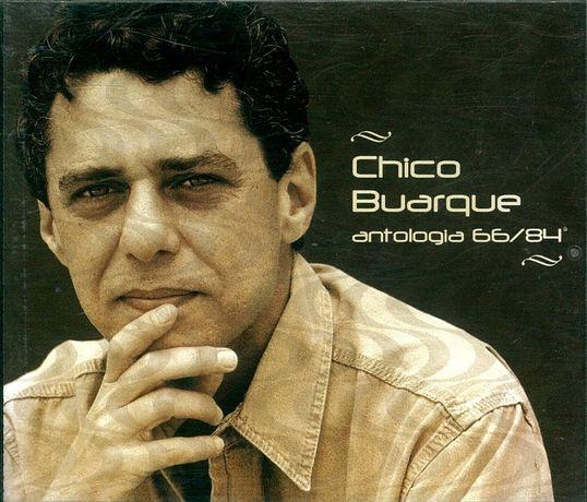 Conjunto de antologias em CD - Buarque, Caetano e Regina