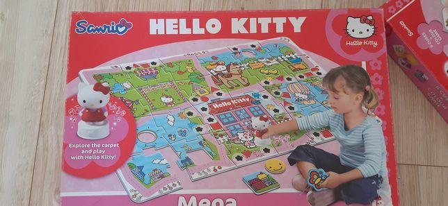 Gry planszowe, układanki Hello kitty interaktywne