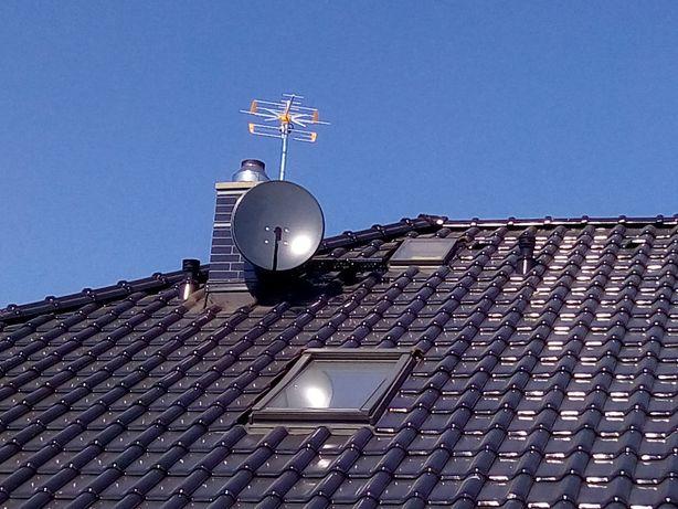 Montaż, ustawianie oraz naprawa anten satelitarnych i naziemnych.