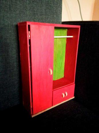 Шкаф для барби. Мебель для кукол, кукольного домика