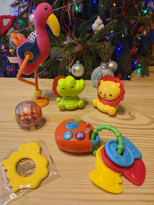 Лот іграшок для найменших брязкальця погремушки шарудилки Львов - изображение 1