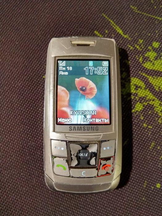 Samsung SGH-E250 с зарядным устройством Киев - изображение 1