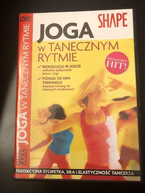 Ćwiczenia Joga w tanecznym rytmie SHAPE