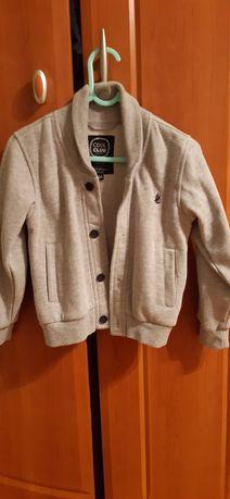Elegancki sweterek ocieplony rozpinany 104