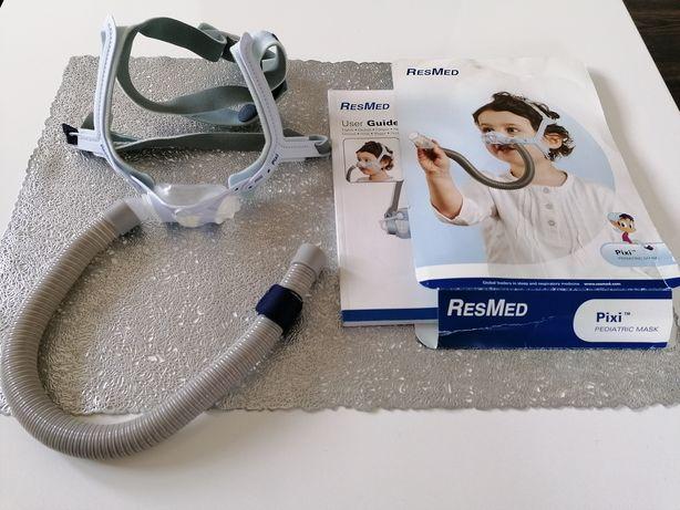 Maska nosowa pediatryczna CPAP wentylacja nieinwazyjna RESMED Pixi
