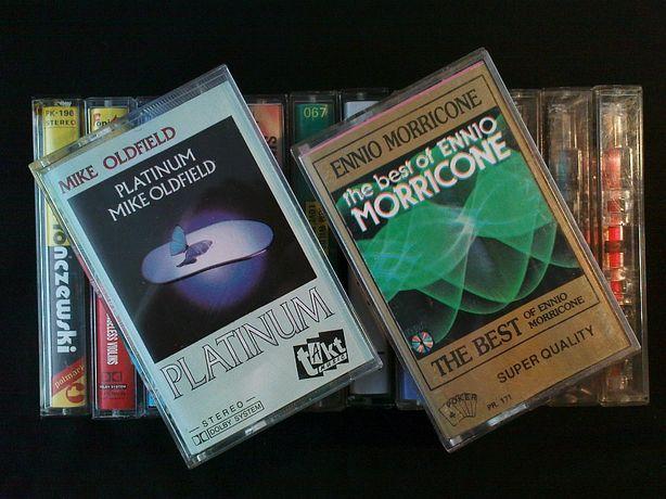 Kasety magnetofonowe — zestaw pełen niespodzianek (cena za całość)