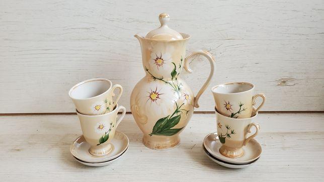 Новый чайный сервиз ромашка чашки