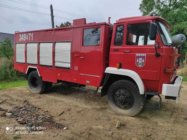 Star 266 wóz strażacki