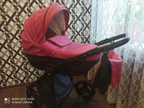 Детская универсальная коляска 2 в 1 TakoLuxsorio-эко кожа