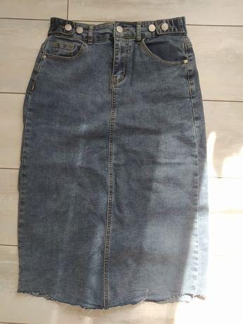 Юбка джинсовая размер М