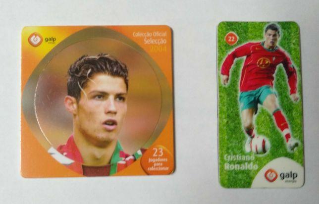 Tazo e íman do jogador Cristiano Ronaldo