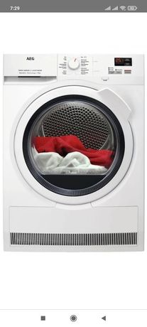 Máquina de secar roupa AEG T7DBK841Z A++ Bomba de calor como nova