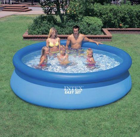 Надувной Бассейн Наливной Семейный\Детский Intex Easy Set 305x76 см