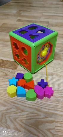 Сортер пазл развивающая игрушка