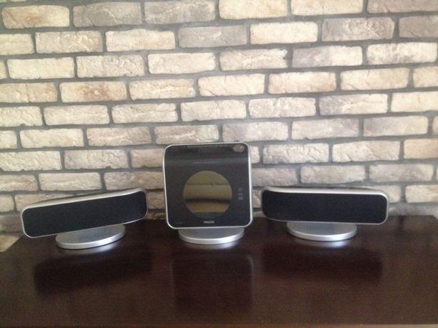 Zestaw Philips - subwoofer, odtwarzacz audio i DVD
