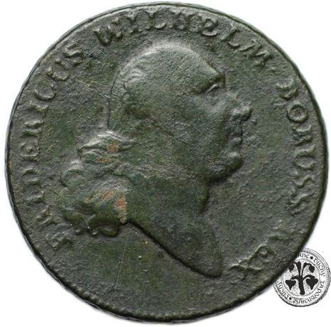 Prusy Południowe Fryderyk Wilhelm II trojak 1797 r. A Berlin
