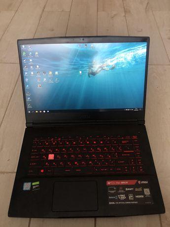 Продаю игровой ноутбук MSI gf63