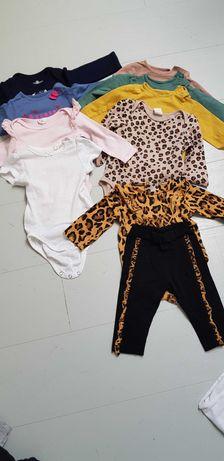 Ubranka dla dziewczynki 68-74