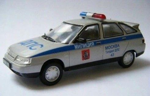 Łada 2112 Policja Rosyjska - Deagostini -Skala 1:43 Nowa