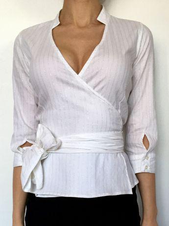 Biała, elegancka koszula Reserved, rozm. S, XS
