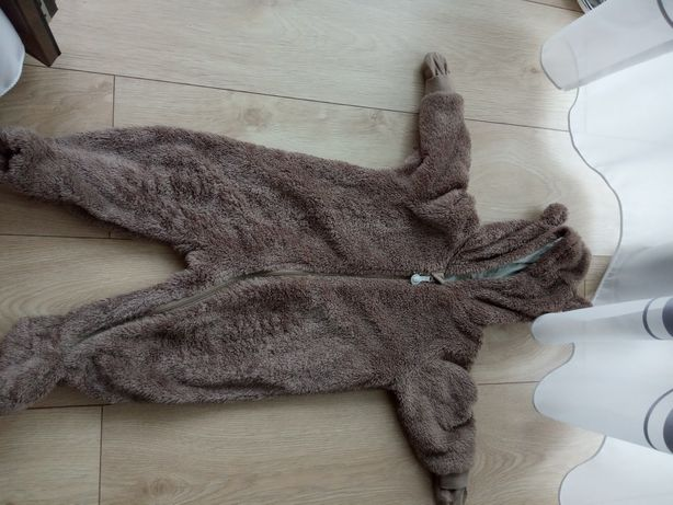 Kombinezon dziecięcy niedźwiedź h&m rozmiar 68