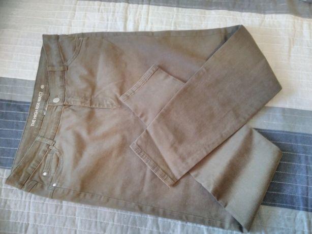 nowe spodnie jeansowe, rozm. 44-46