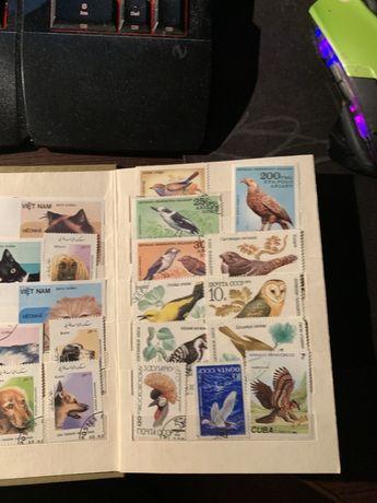 Марки СССР Куба Вьетнам коллекция