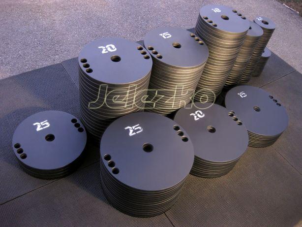 Блины диски ∅51, ∅26, ∅31 и ∅56 мм стальные порошковая покраска, грифы