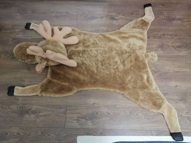 Kocyk, dywanik ŁOŚ w rozmiarze xxl