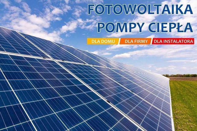 Fotowoltaika montaż, Instalacja PV 9,66 kW 21 x Recom 460 W grunt