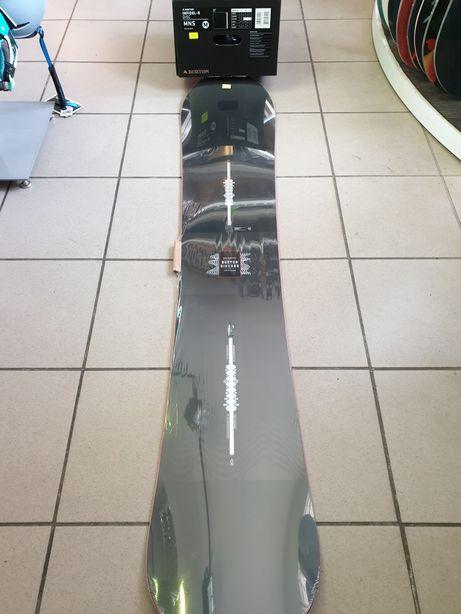 Deska snowboardowa Burton Ripcord 158W+wiązania Infidel-R