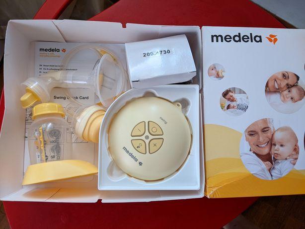 Молокоотсос Medela Swing+соска Calma+мембрана+бутылка+пакет