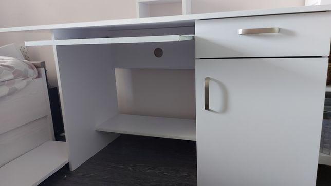 Biurko białe szerokość 1,5m