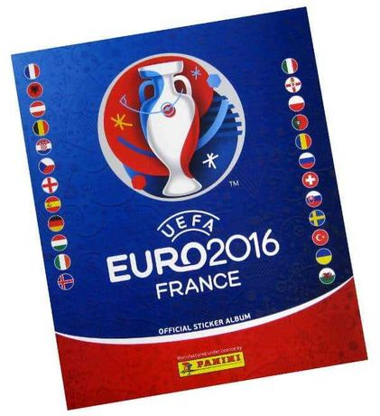 Euro 2016 Caderneta Panini
