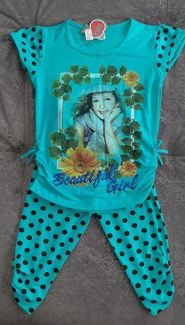 Літній костюм на дівчинку , розмір 6. Новий з біркою.