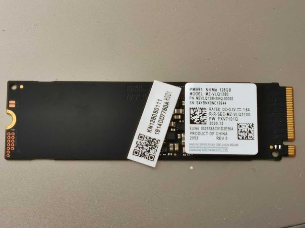 SSD-диск Samsung PM991 128GB M.2 NVMe PCIe 3.0 x4 | MZVLQ128HBHQ